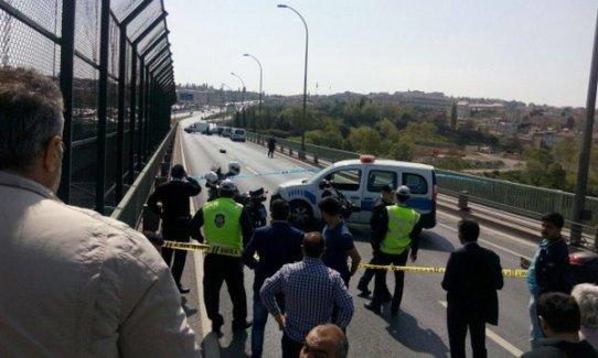 Haliç Köprüsü'nde bomba paniği