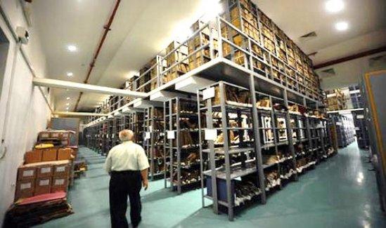 İstanbul'daki Osmanlı arşivi sınıflara ayrıldı