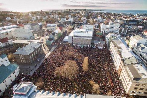 İzlanda başbakanı gönderiyor