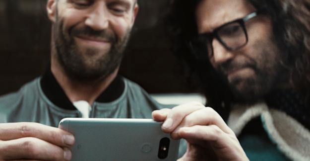 Jason Statham LG G5'in Reklamında