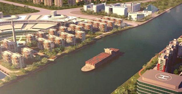 Kanal İstanbul bir suyoludur