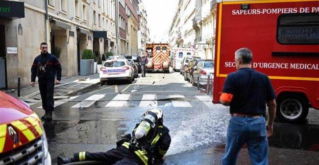 Paris'te yine patlama