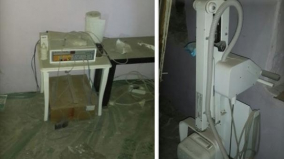 PKK'lıların kullandığı EKG ve röntgen cihazı bulundu