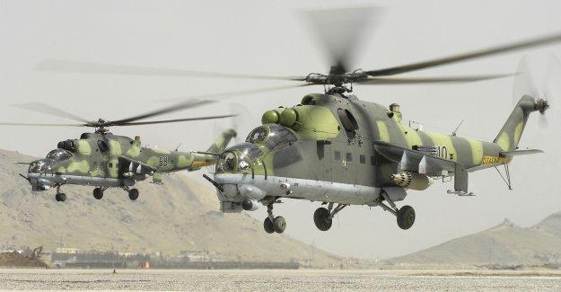 Rus helikopteri düştü
