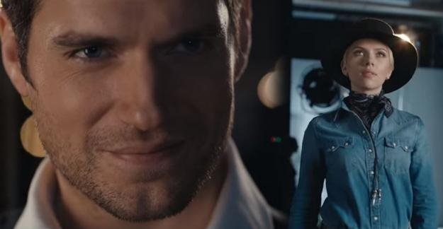 Scarlett Johansson ve Henry Cavill'den dev ortaklık!