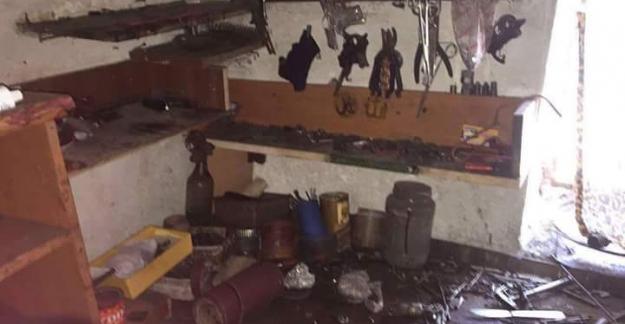 Silah bakım atölyesine baskın...2 PKK'lı öldürüldü!