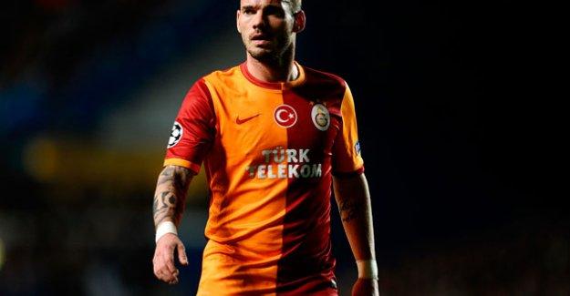 Sneijder'den Donk'a fırça