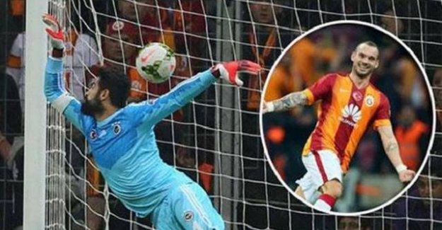 Sneijder Kadıköy'ü istila etti