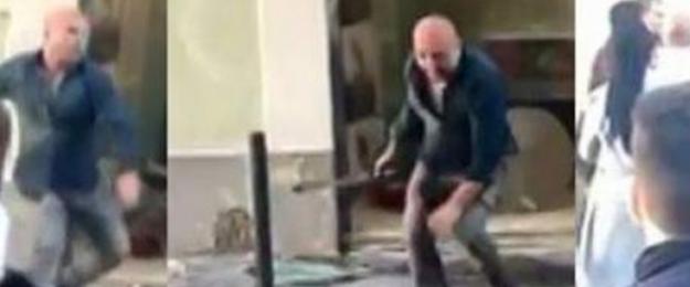 Türk dönerci Portekiz'de 50 kişiye tek başına karşı koydu