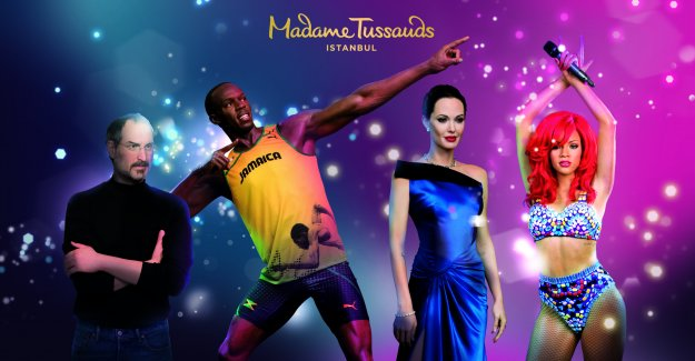 Ünlü Madame Tussauds İstanbul'da açılıyor