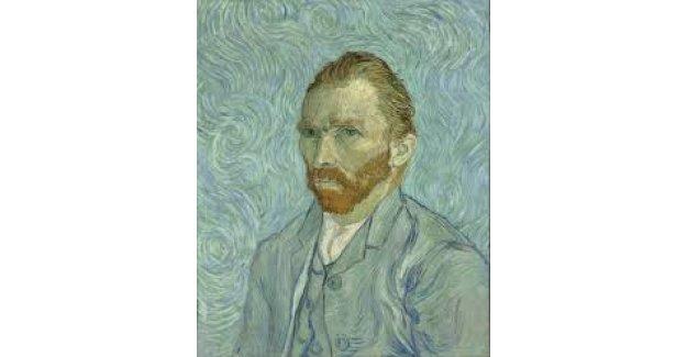 Van Gogh beyaz perdeye
