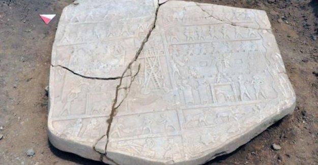 2700 yıllık rölyefi paramparça ettiler