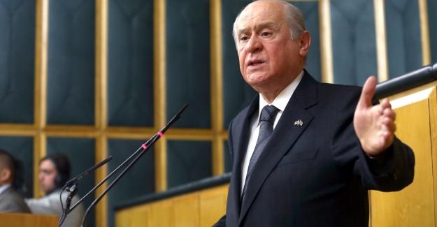 Ak Parti ile koalisyon sinyali veren MHP Lideri Bahçeli grup toplantısında konuştu