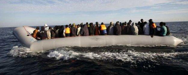 Akdeniz'de bot battı, en az 80 mülteci kayıp