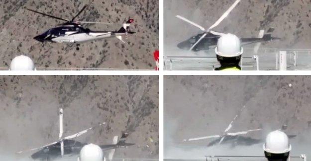 Artvin'de DSİ Genel Müdürü'nü taşıyan helikopter yan yattı: 3 yaralı