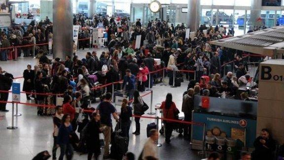Atatürk Havalimanı'nda akılalmaz sapıklık