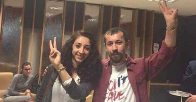 Avukat Sinan Zincir ve Raziye Öztürk serbest bırakıldı