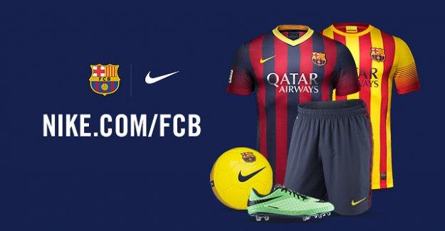 Barcelona Nike ile 10 yıllık anlaşma imzaladı
