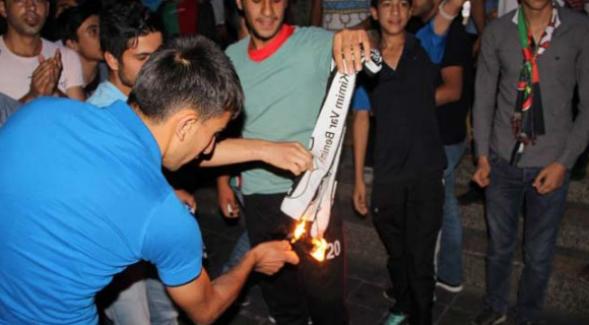 Beşiktaş taraftarlarına şampiyonluk kutlamasında ŞOK saldırı