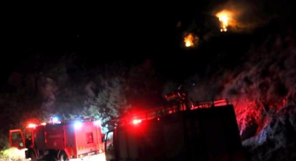 Bodrum'da yangın çıktı