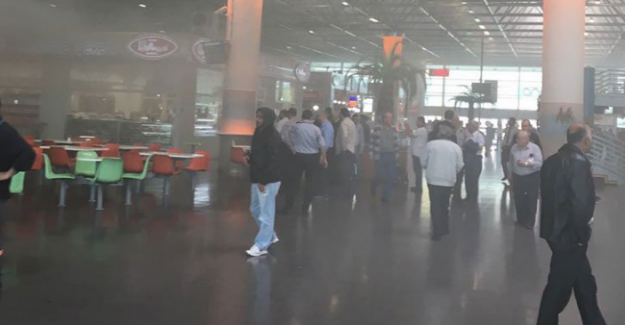 Bursa Şehirlerarası Otobüs Terminali'nde yangın paniği