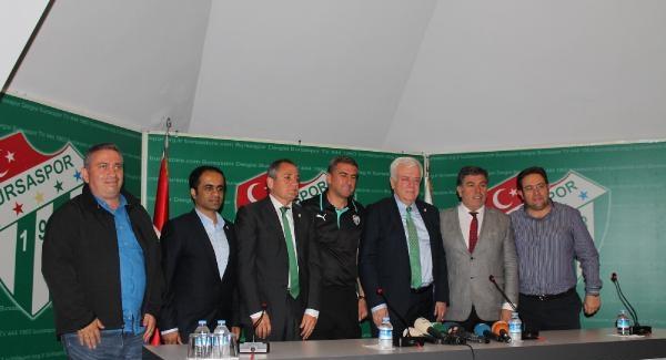 Bursaspor Hamzaoğlu ile 2 yıllık sözleşme yeniledi