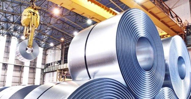 Çelik sektöründen dört ayda 5,5 milyon tonluk ihracat