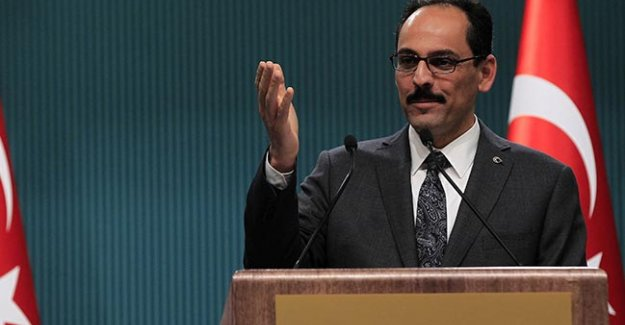 Cumhurbaşkanlığı Sözcüsü İbrahim Kalın'dan çarpıcı açıklamalar!