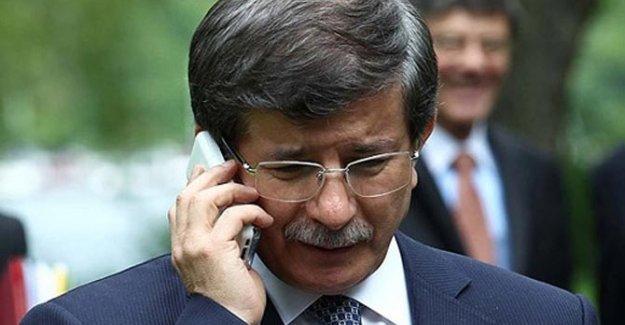 Davutoğlu'ndan Binali Yıldırım'a tebrik telefonu