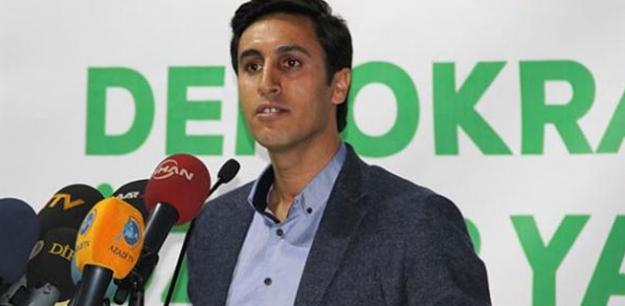 DBP, Kamuran Yüksel'in tutuklanması nedeniyle 'irademe dokunma' eylemi başlatıyor