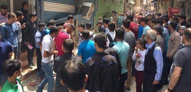 Diyarbakır'da 'taciz iddiası' mahalleyi ayağa kaldırdı!