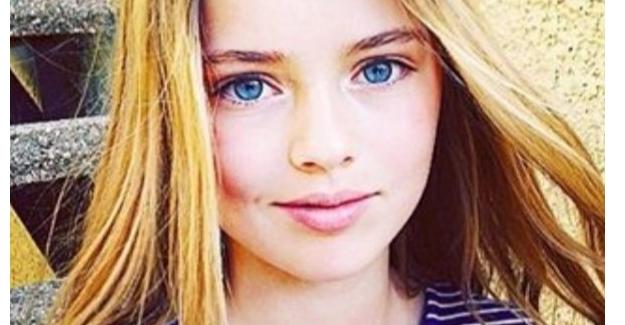 Dünya güzeli Kristina Pimenova büyüdü