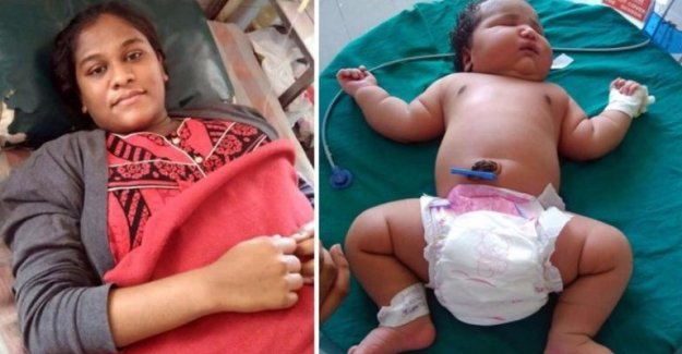 Dünyanın en ağır kız bebeği Hindistan'da 6.8 kiloda doğdu