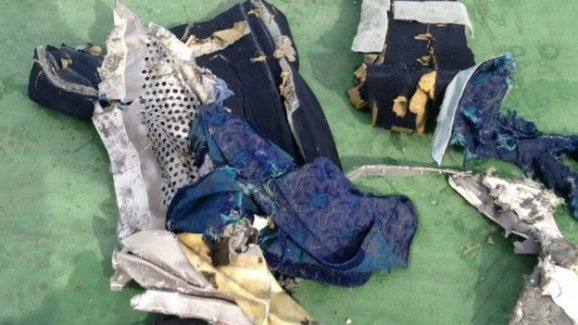 EgyptAir Uçağının Enkazından İlk Fotoğraflar !