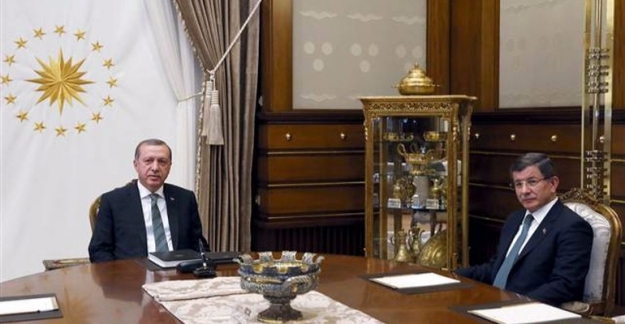 Erdoğan ve Davutoğlu görüşmesi sona erdi