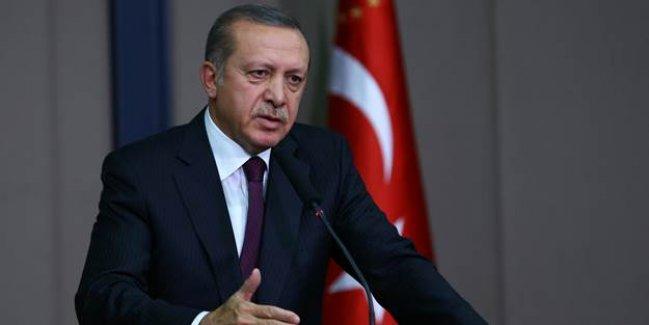 Erdoğan: DAEŞ'le yaptığımız mücadeleyi hiç bir ülke yapmadı