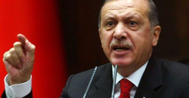 Erdoğan: Haddini bil haddini