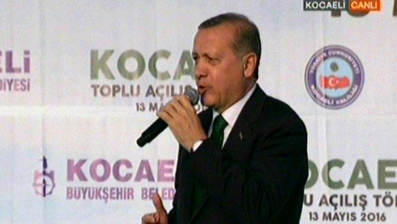 Erdoğan:Terörle mücadelede MHP bize destek veriyor ama CHP bize yanaşmıyor