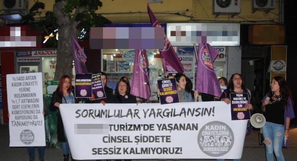 Eskişehir'de Kadınlar Otobüsteki Taciz Olayını Kınadılar