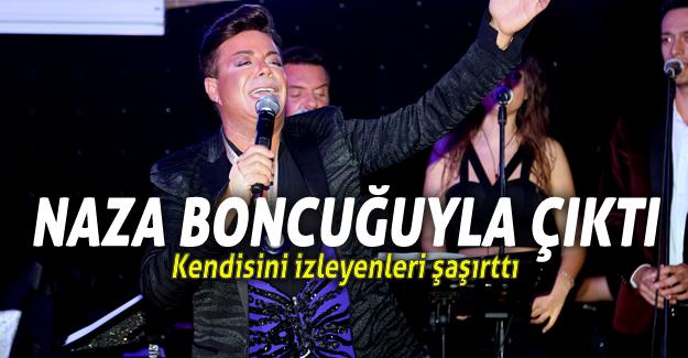 Fatih Ürek Nazar Boncuğuyla Sahne Aldı