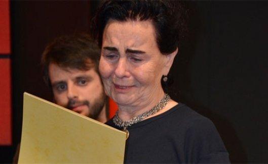 Fatma Girik hüngür hüngür ağladı!
