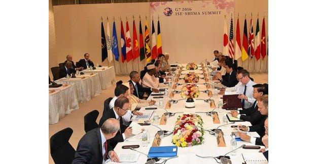 G-7 zirvesi sona erdi!