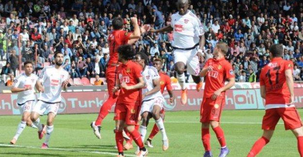 G.Antepspor:1 1:Eskişehirspor
