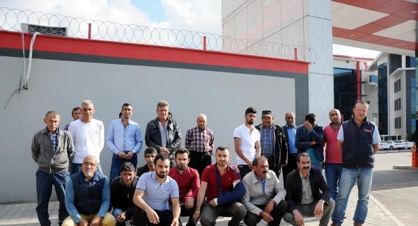 Gaziantep'te Parasını Alamayan İşçilerden Eylem