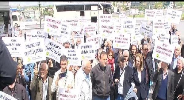 """Gaziosmanpaşa'daki """"Acele kamulaştırma kararı""""nın iptali için mahkemeye başvurdular"""