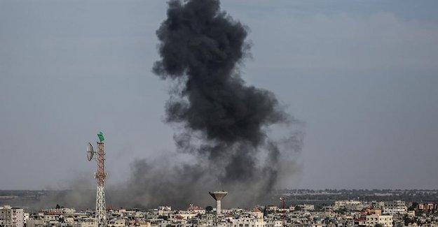 Gazze'ye İsrail'den iki hava saldırısı daha!