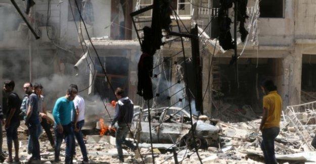 Halep bombalanmaya devam ediyor!