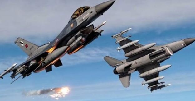 Hava harekatı ve top atışlarıyla 104 IŞİD'li terörist öldürüldü