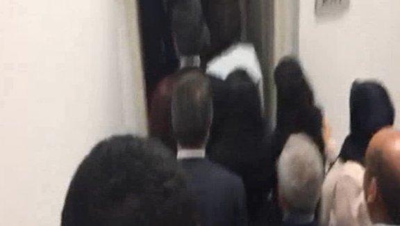 "HDP'li vekillerden mecliste ""biji serok apo"" sloganı"