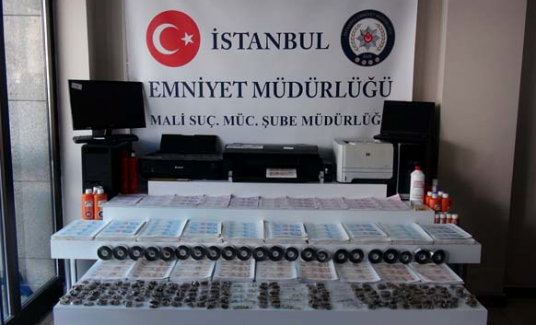 İstanbul'da 20 milyon TL'lik sahte para ele geçirildi